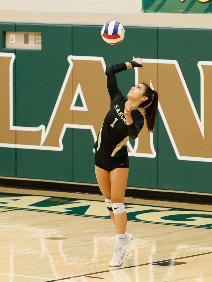 Langley Saxons volleyball 4