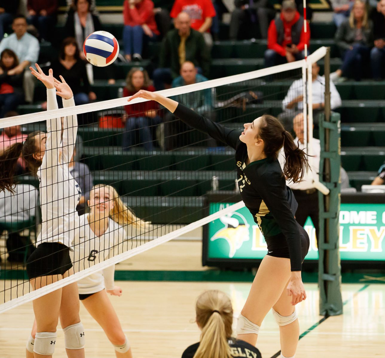 Langley Saxons volleyball 5