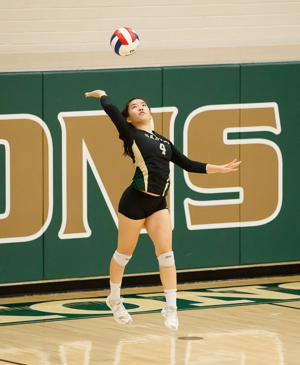 Langley Saxons volleyball 8