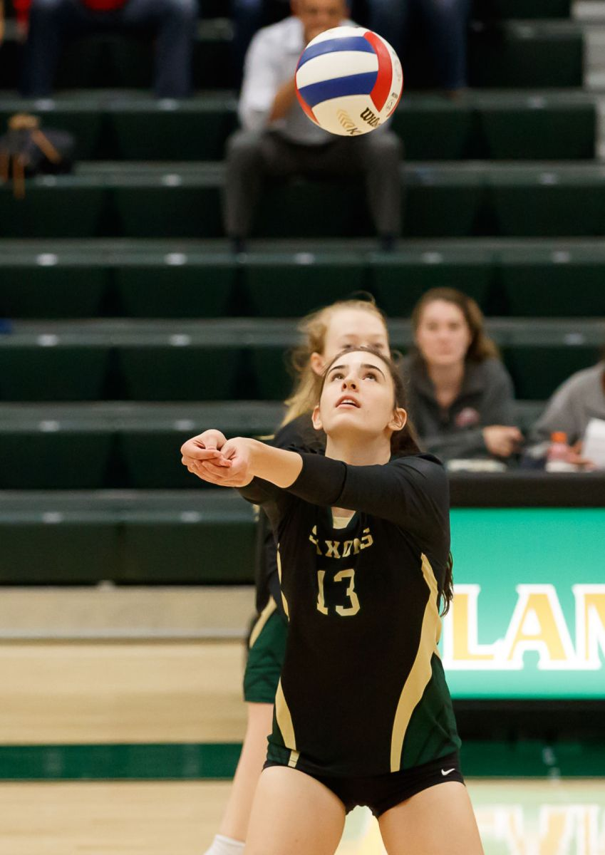 Langley Saxons volleyball 11