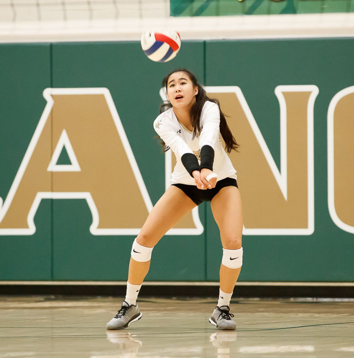Langley Saxons volleyball 14